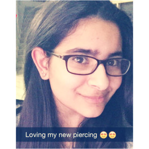 My New Piercing
