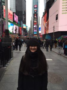 This is me in Times Square.