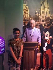 In the Walt Disney Exhibit.