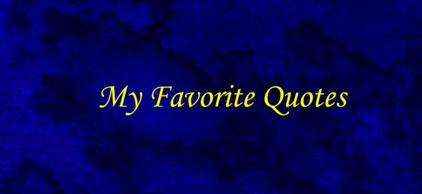 Lujain Talks My Favorite Quotes Impressive My Favorite Quotes